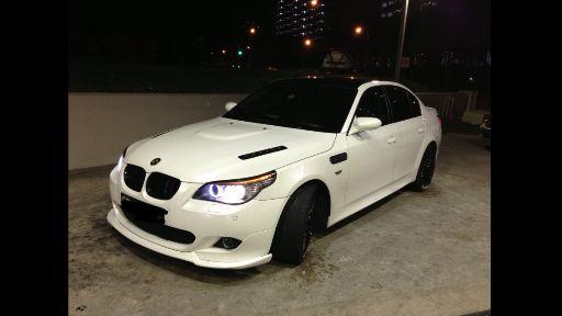 Wts e60 accessories dekit white color | BMW SG - Singapore