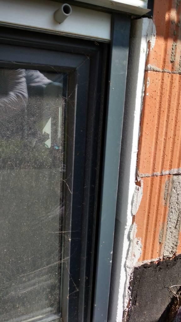 Fenster und fensterb nke problem beim verputzen for Fenster quellband