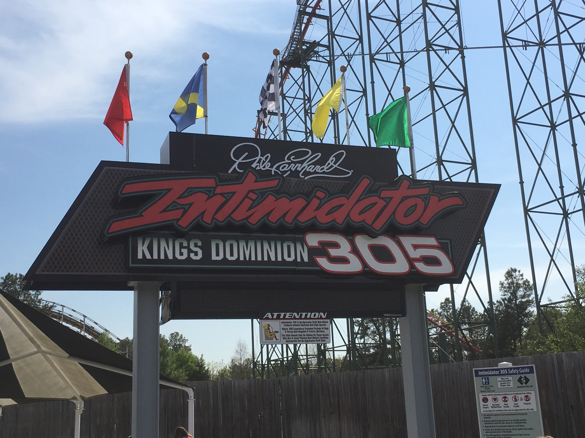 Intimidator 305 Giga-coaster at Kings Dominion | Diecast CraZy