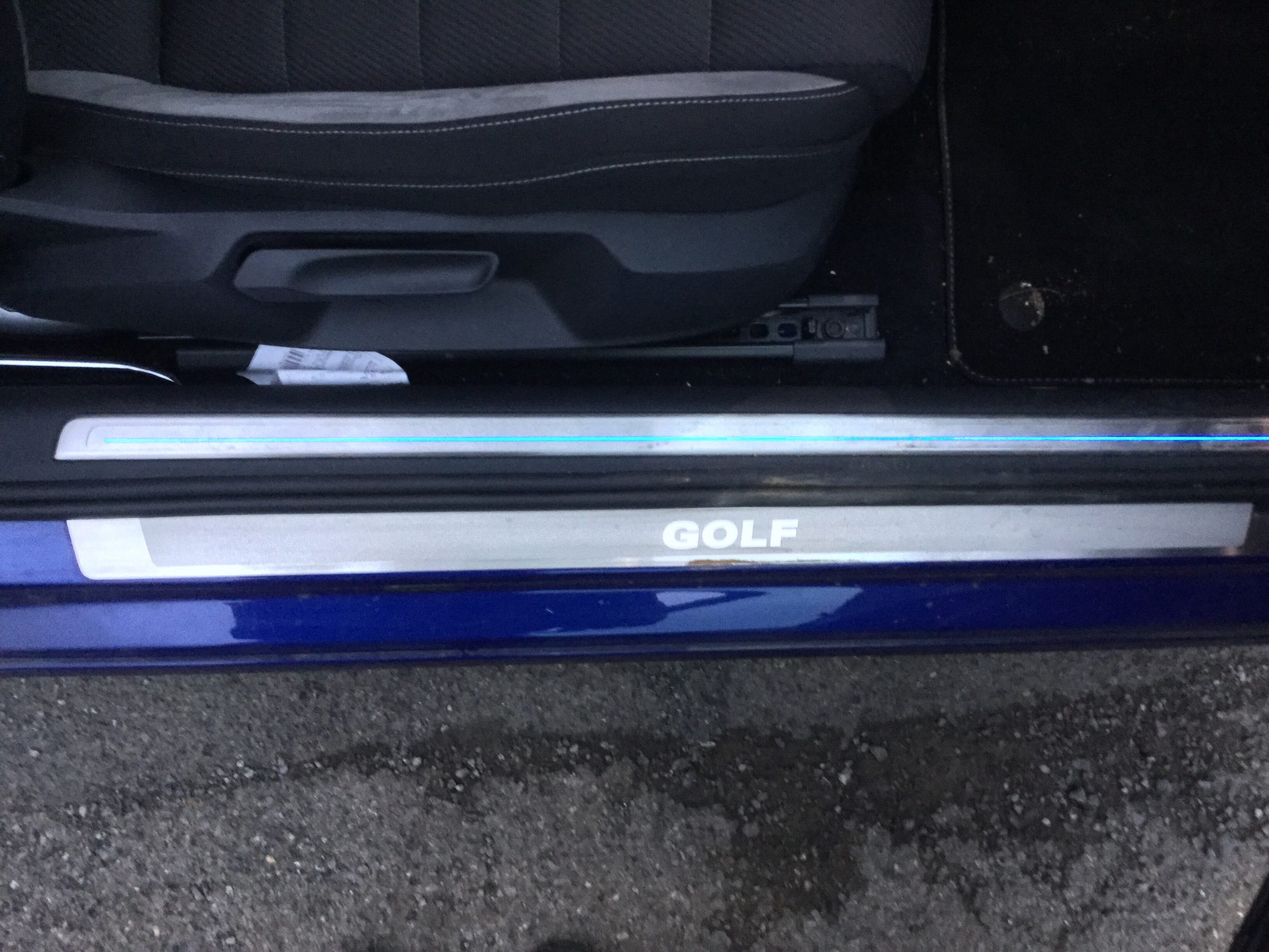 Door Sill Protectors Vw Golf R Mk7 Chat Vwroc Vw R Owners Club