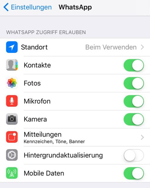 Whatsapp Fotos Werden Nicht In Galerie Gespeichert Apfeltalk