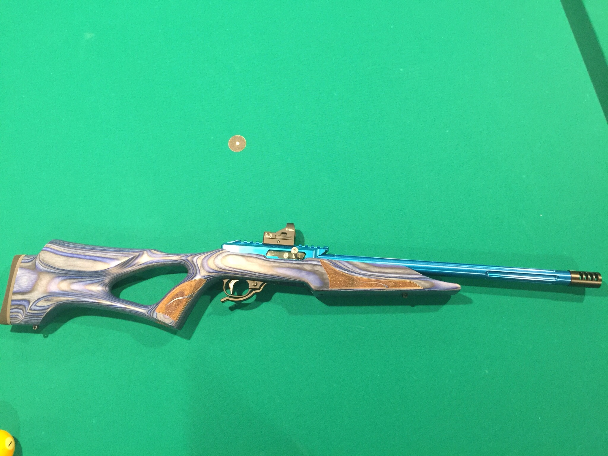 What rimfire do you shoot for Steel Challenge and why