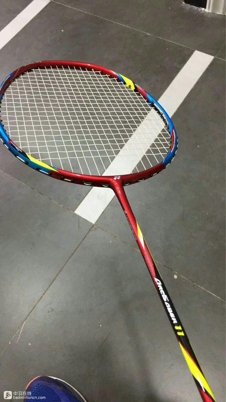 Yonex ARCSABER 11 Badminton Racket Red White Racquet String 3UG5 Lee Yong-Dae