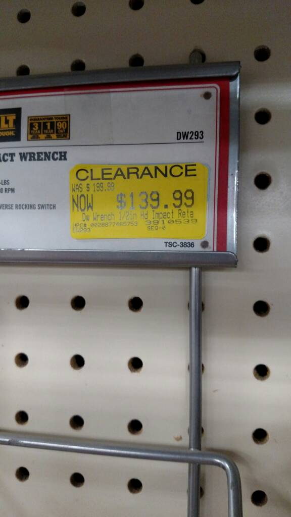 Tractor Supply 2017 Clearance thread    - The Garage Journal