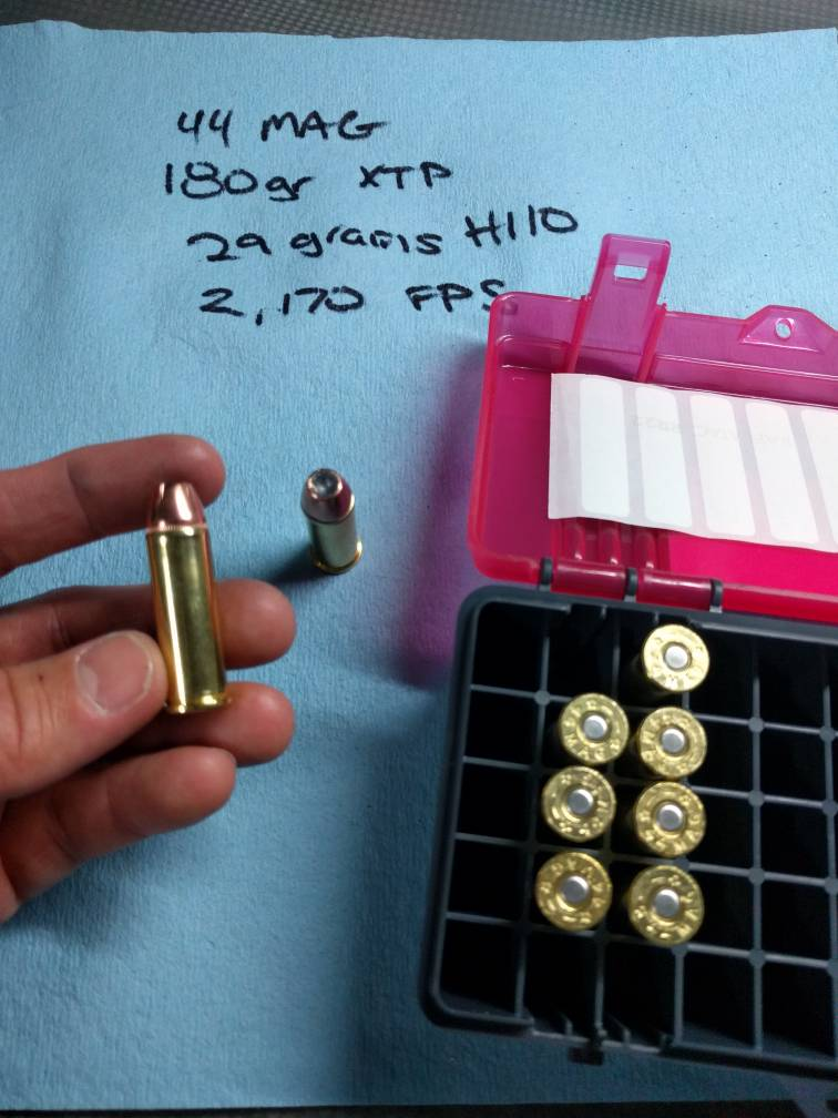 Sanity check - new to reloading  44 Magnum  - The Firing