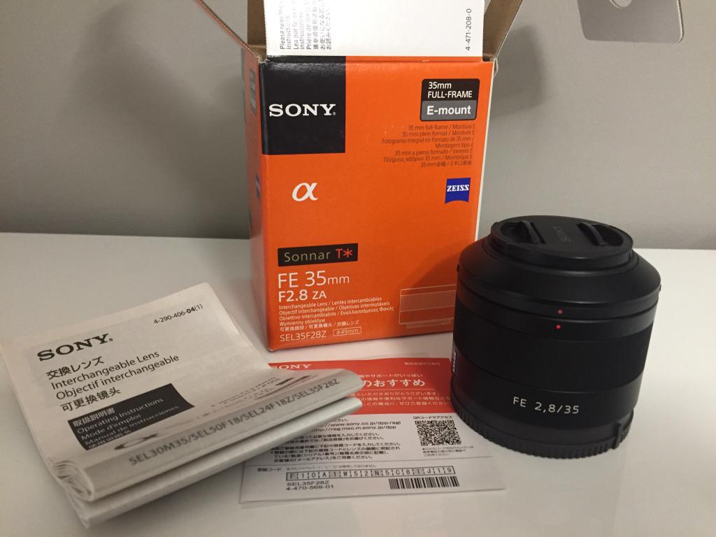 [VENDIDO] Sony Zeiss 35mm f2.8 Sonnar T* en Camaras y Objetivos38c79a3dd70afc3f5f31179e139637ca