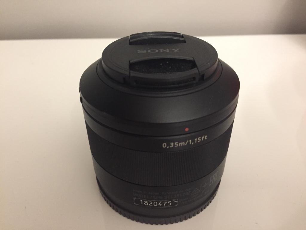[VENDIDO] Sony Zeiss 35mm f2.8 Sonnar T* en Camaras y Objetivos3d69193bc60f34f608fe1b58db401886