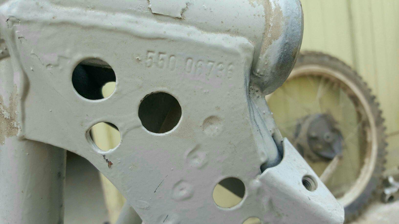 Frage Rahmennummer Baujahr. KTM - Klassische Motorräder ...