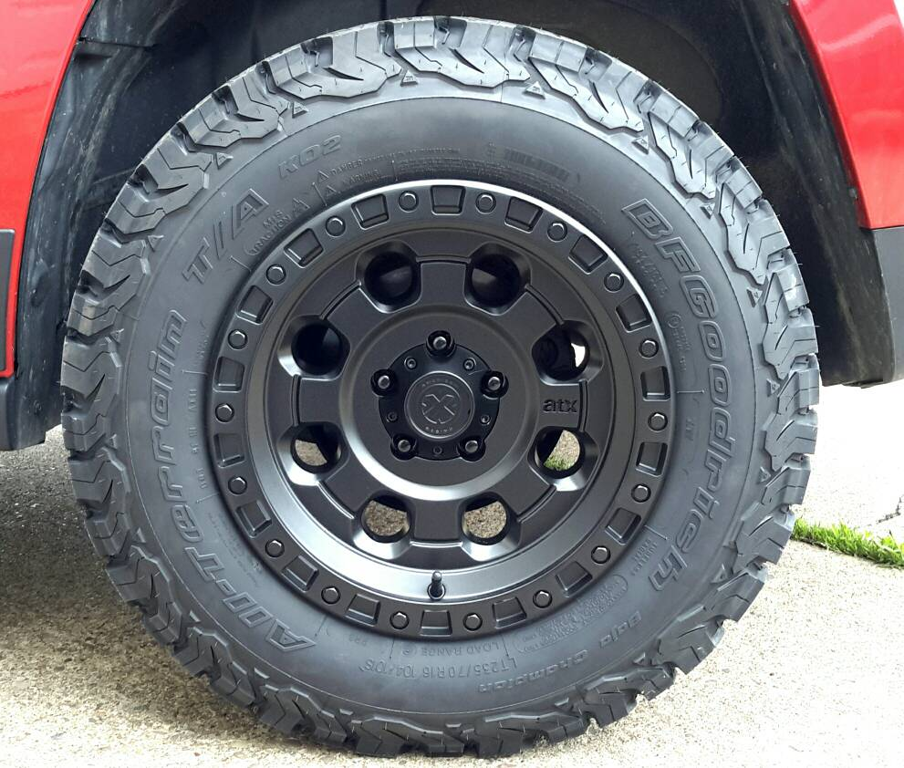 Patriot Rim/Tire Combination Photographs