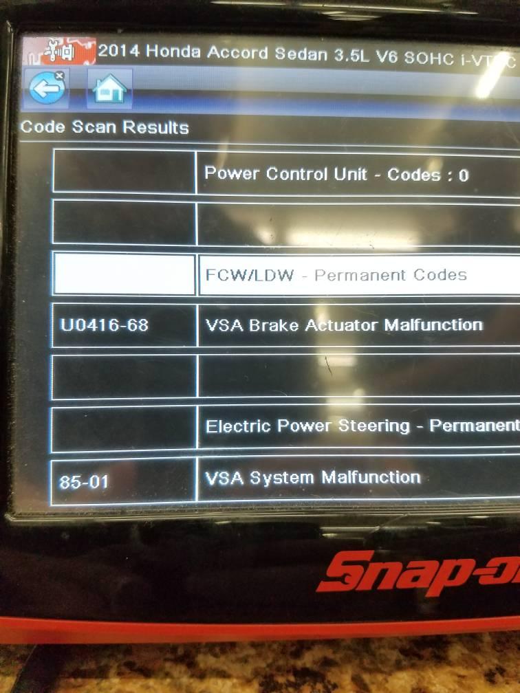 Honda Accord Ex-L >> FCW system failed - Page 4 - Drive Accord Honda Forums