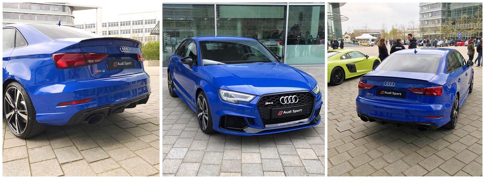 Facelift 2018 Ara Blue Rs3 Saloon Alu Optics Or Black