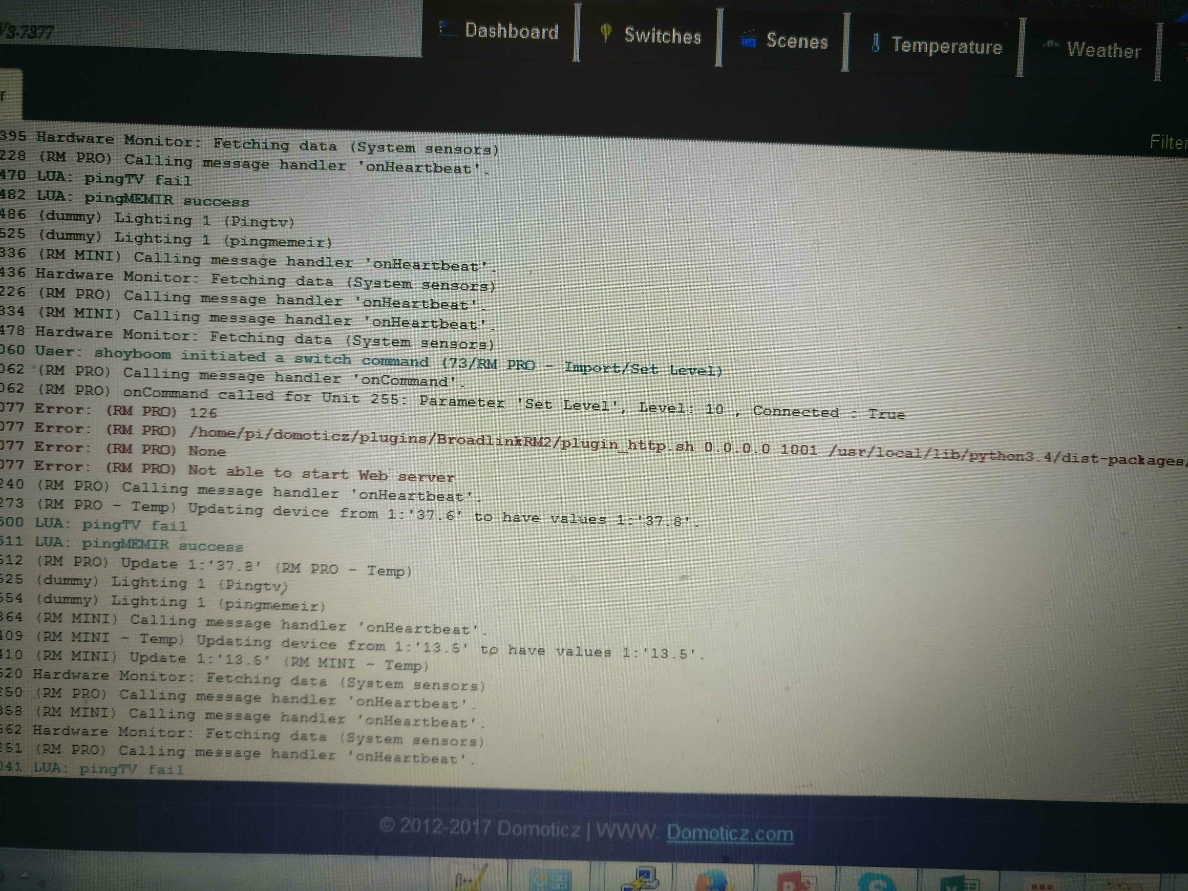 Python Plugin Broadlink Rm2 V2 Domoticz Wiringpi Serial Example Image