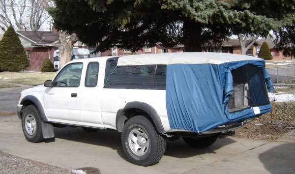 Toyota Tacoma Tent >> DAC truck topper camper tent for mid size trucks