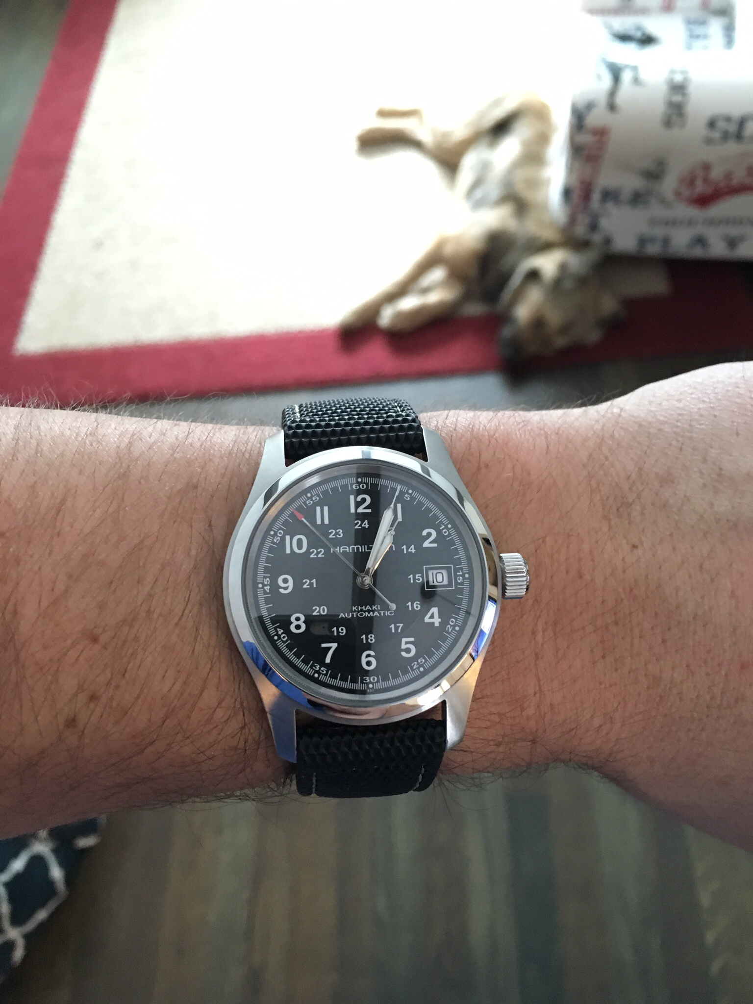 Looking For Alternate Straps For My Khaki Field Automatic