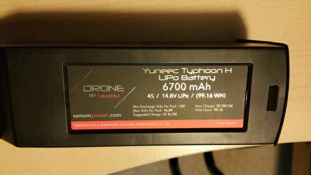 FS: New, never flown Yuneec Typhoon H Pro 4K Drone ...