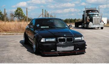 E36 headlight led light bar swap you should look into putting some backing behind the led bars to make it look more professional like this aloadofball Choice Image
