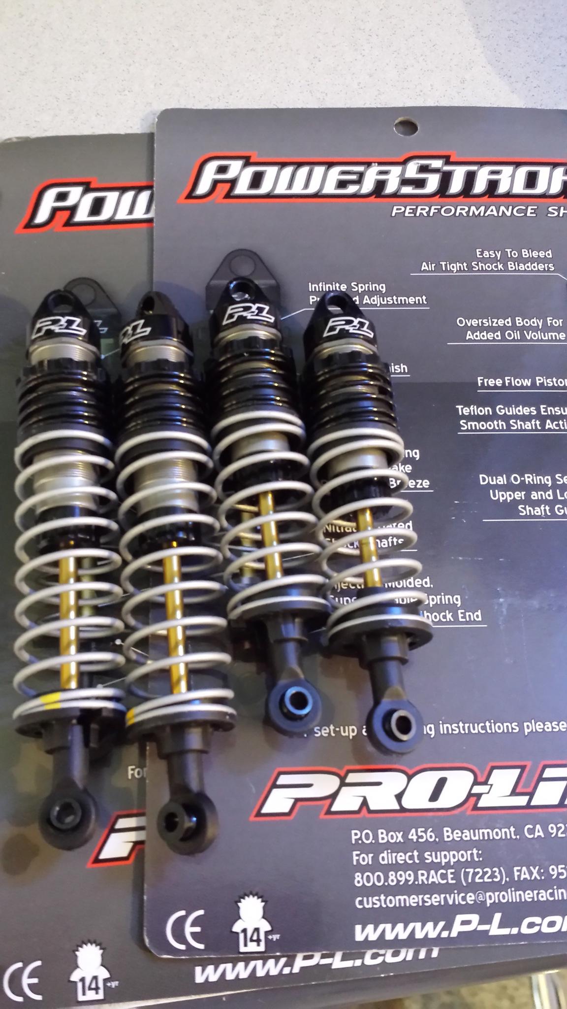 Speed Tune Suspension Front Spring Set for 1//10 Traxxas Slash /& Stampede 6