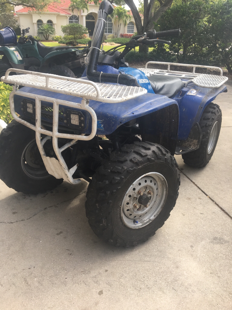 Stuff To Look For On 2001 350 Rancher 4x4 Honda Atv Forum