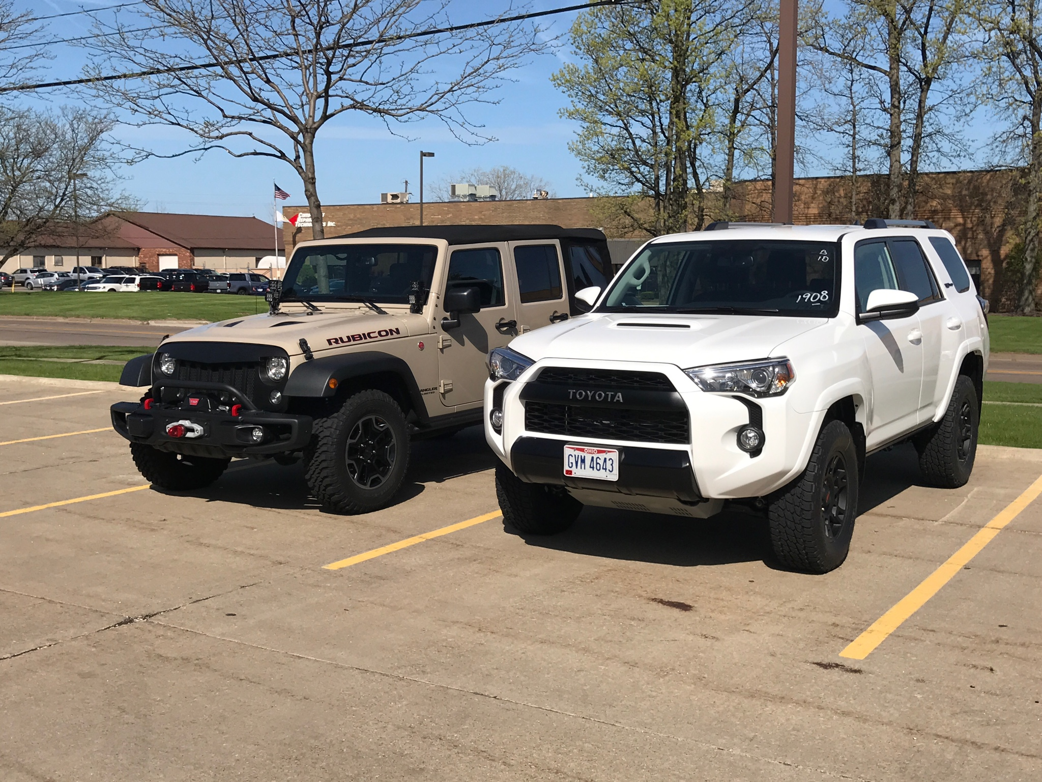 2017 4runner trd pro page 2 toyota 4runner forum largest 4runner - Got To Pick Mine Up This Morning Ordered First Week Of January And Brought It Home Today Said Goodbye To My Rubicon But That S Ok