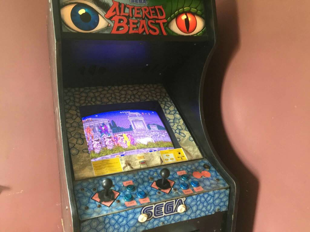 Is this an original Altered Beast cabinet? - KLOV/VAPS Coin-op ...