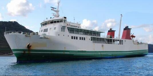 485PAX+150SEDAN ROPAX VESSEL FOR SALE/ 1998YEAR JAPAN BUILT