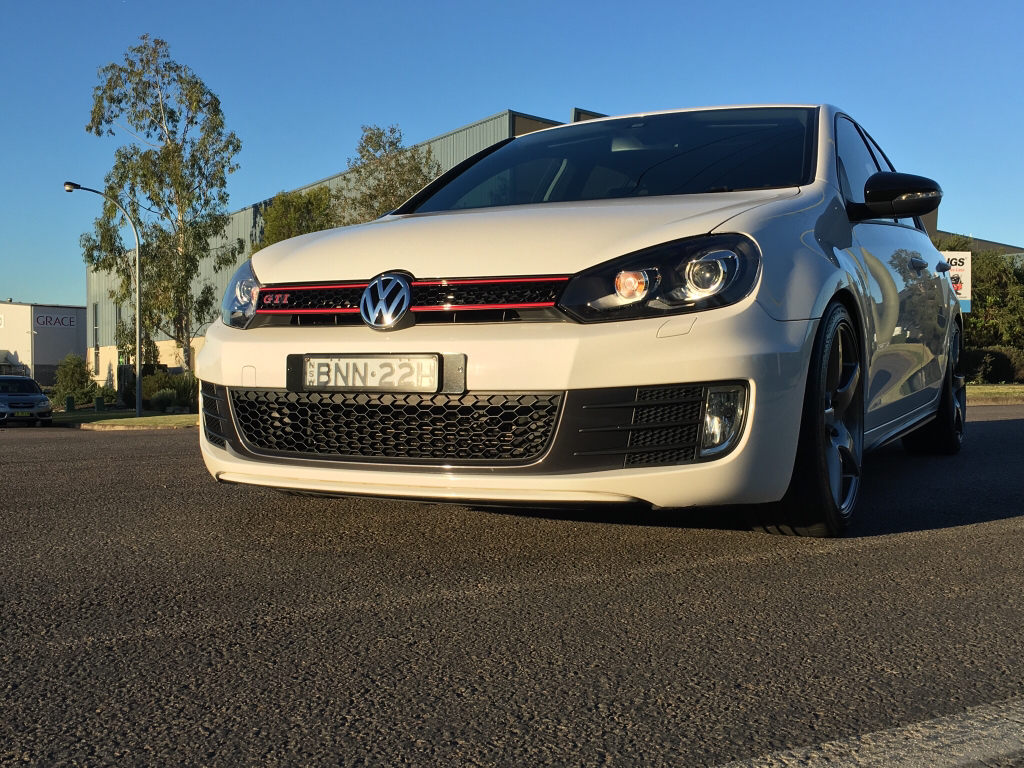 sold 2010 mk6 golf gti candy white manual 86 xxxkm stage 2 tuned. Black Bedroom Furniture Sets. Home Design Ideas