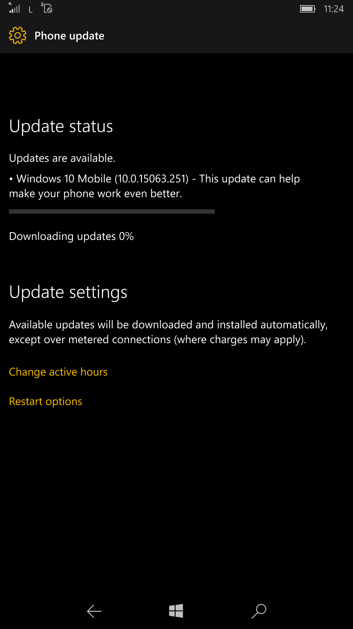 Why hasn t windows 10 downloaded - I Just Recieved The Update On My Lumia 950xl Non Insider I Am From Pakistan But Region Is Set To Us Downloading Now