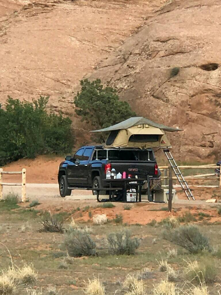 Roof Top Tent 2014 2018 Silverado Amp Sierra Mods Gm