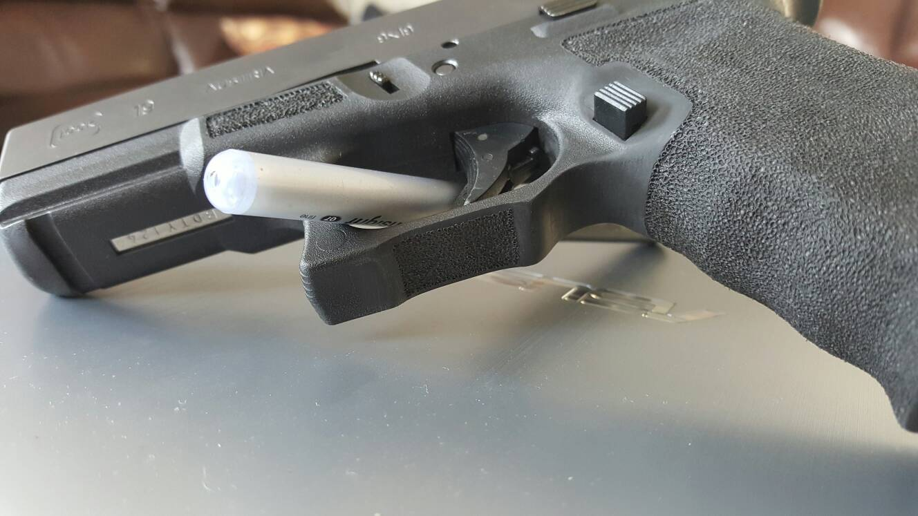 For those who have stippled their glocks: defined borders - Calguns.net