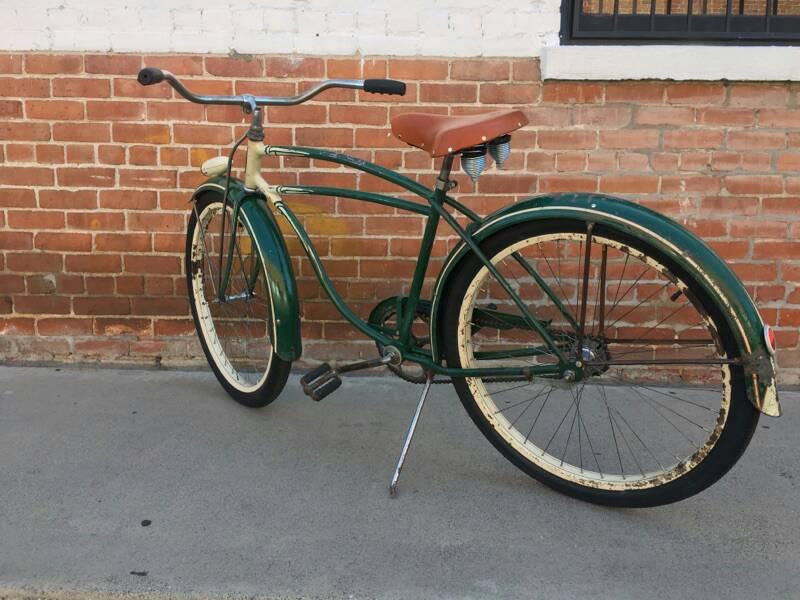 Schwinn Bicycle Painting : Schwinn dx inch beach cruiser bike original paint