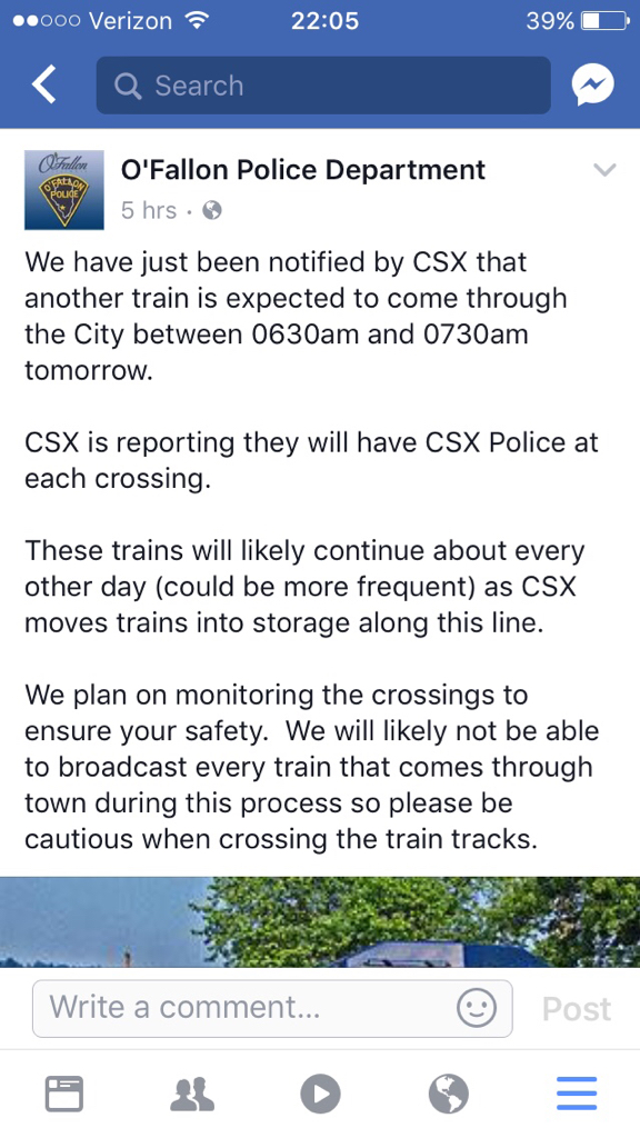 Current State of the CSX Illinois Subdivision        - page