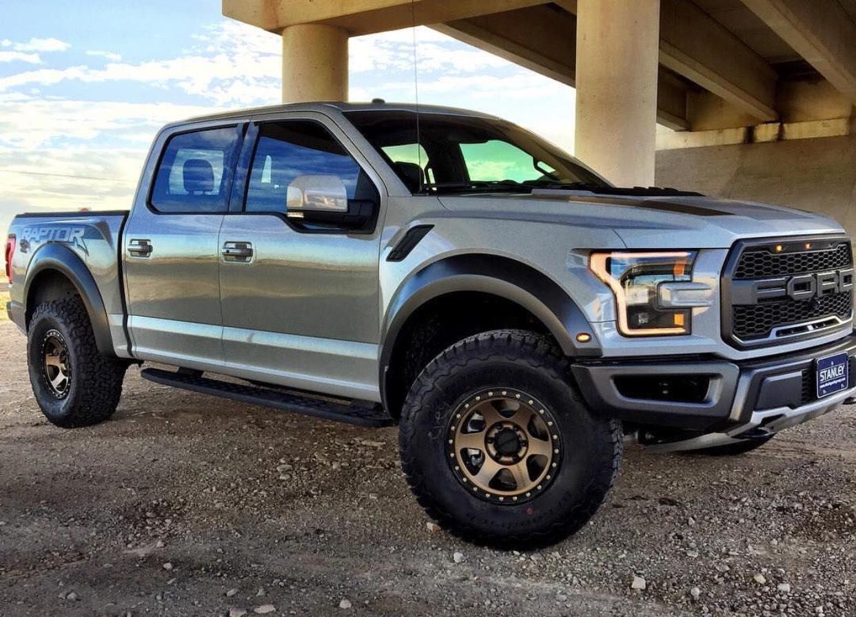 Avalanche Grey Bronze Methods Mockup Ford Raptor