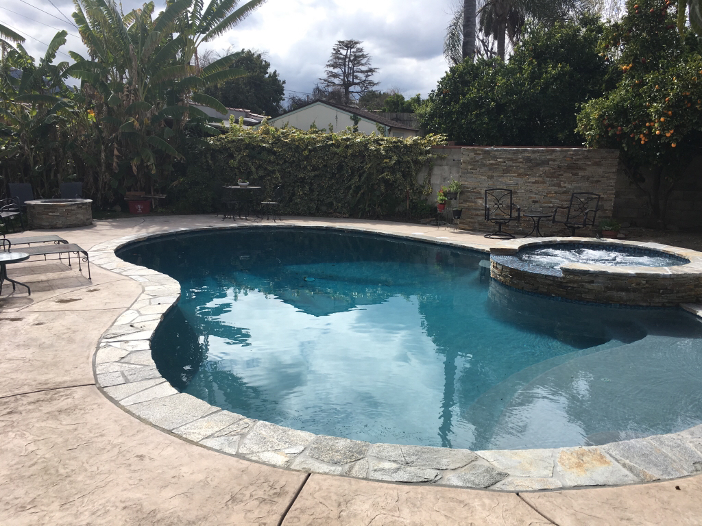 What does your pool equipment pad look like for Pool equipment