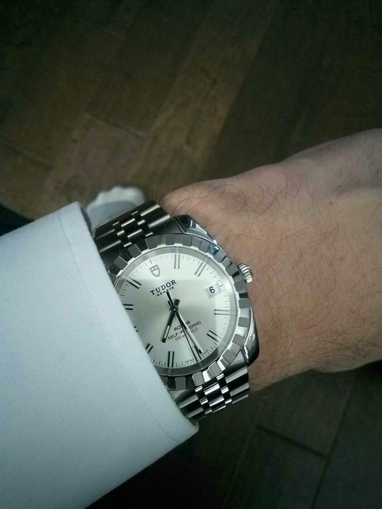 Tudor Style 38mm (two Tone Watch