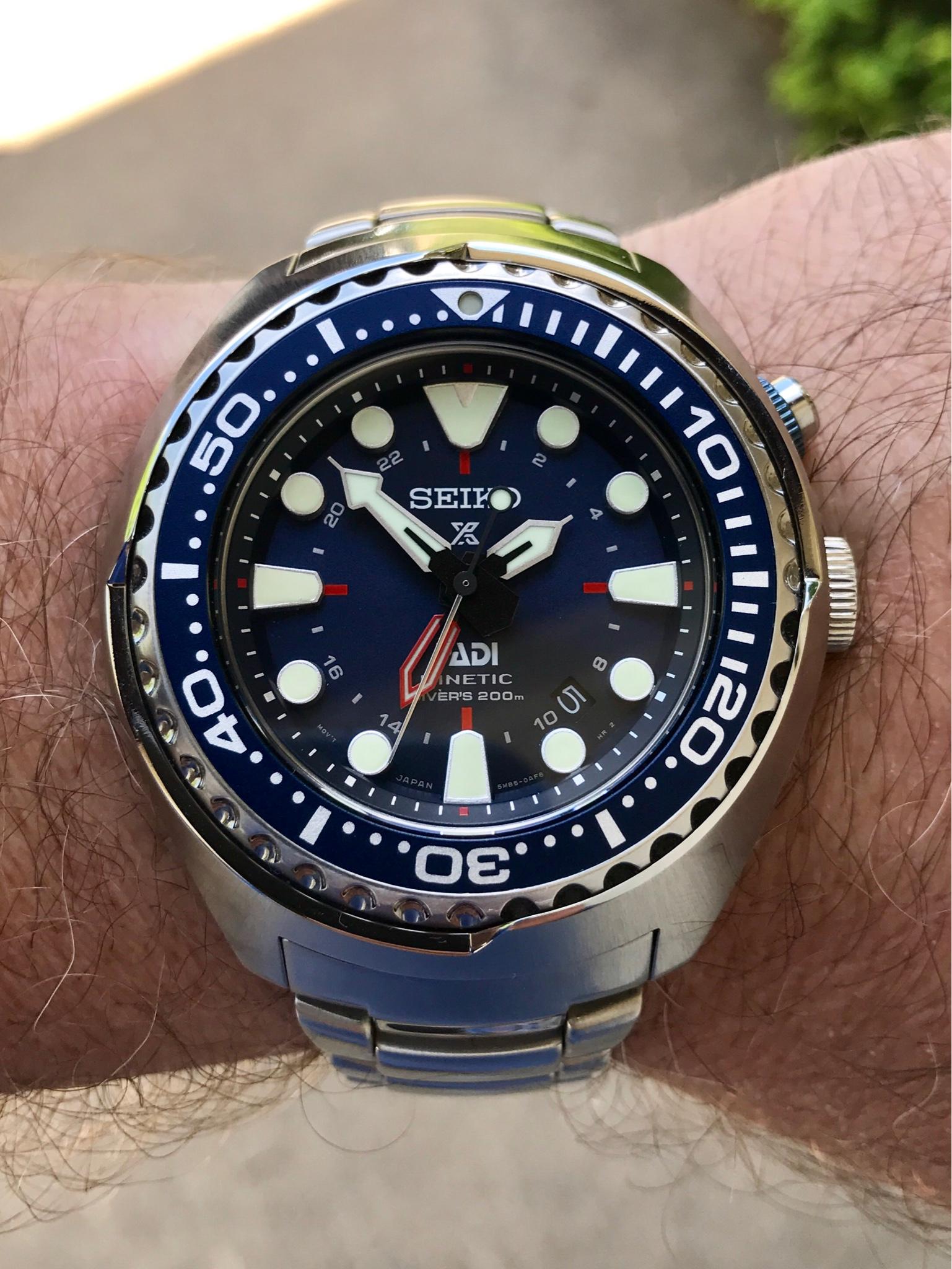 Seiko Padi Sun065 Kinetic Diver