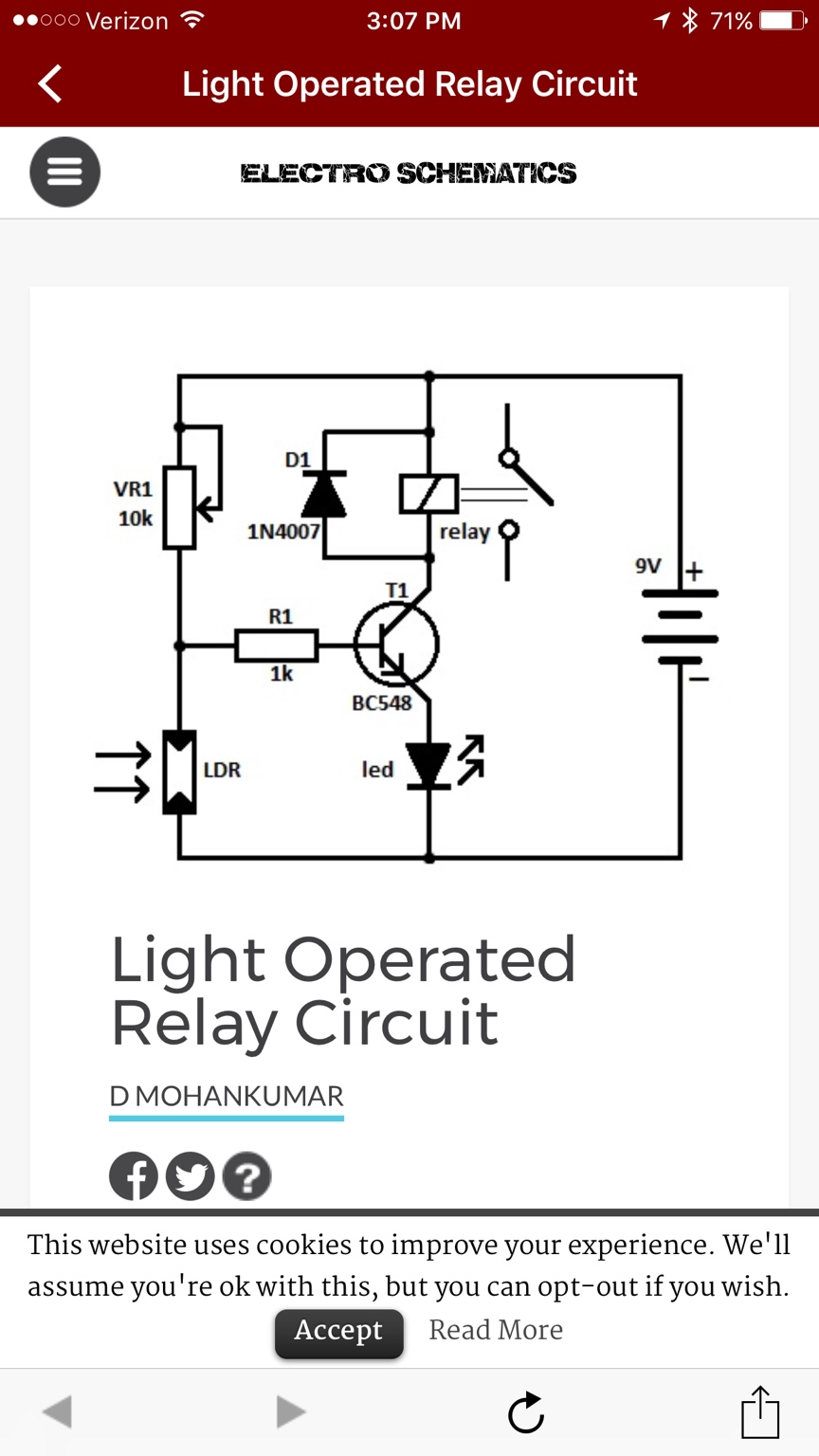 Perfect Ldr Sensor Datasheet Component - Electrical Diagram Ideas ...