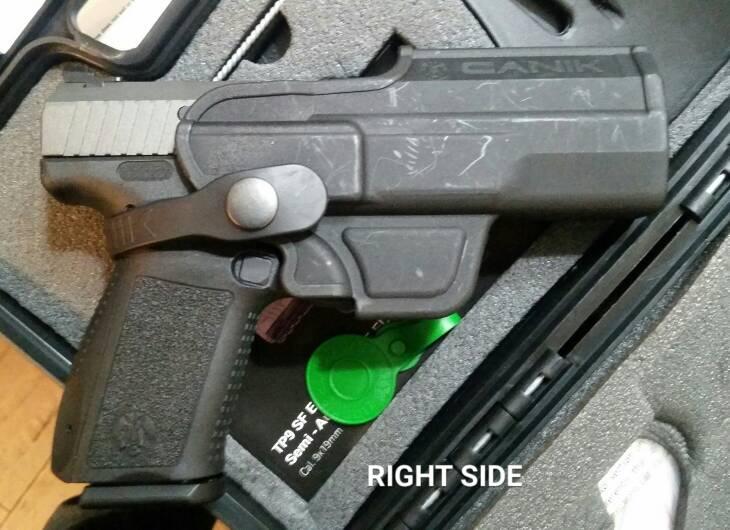 HELP! Weird canik tp9sf elite holster