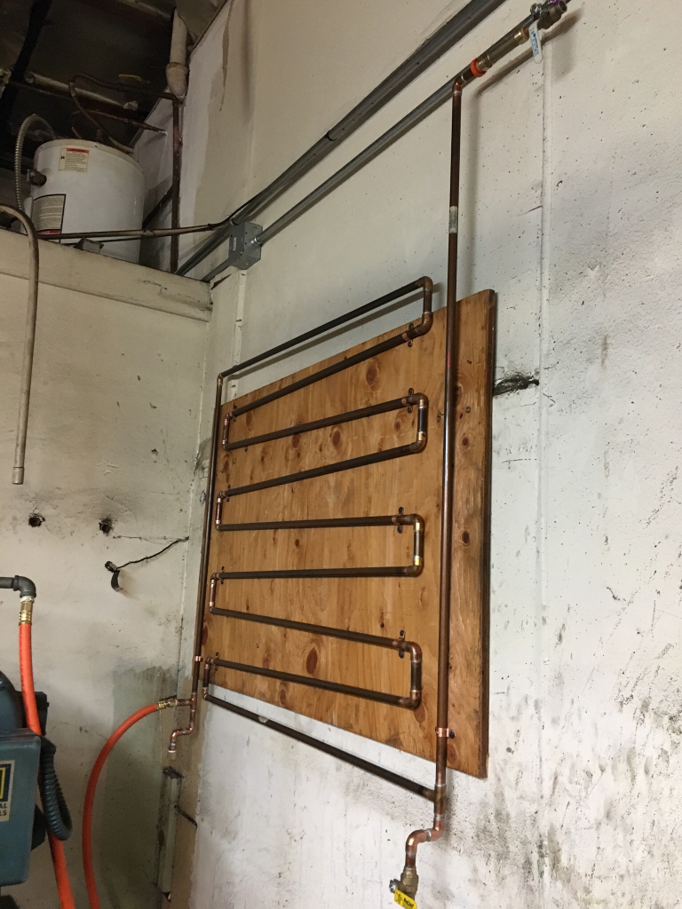 Show Us Your Compressor Plumbing And Manifolds Archive The Need Plug Hook Up Diagram For 220 Ingersoll Rand 2475n75 Type 30 Garage Journal Board