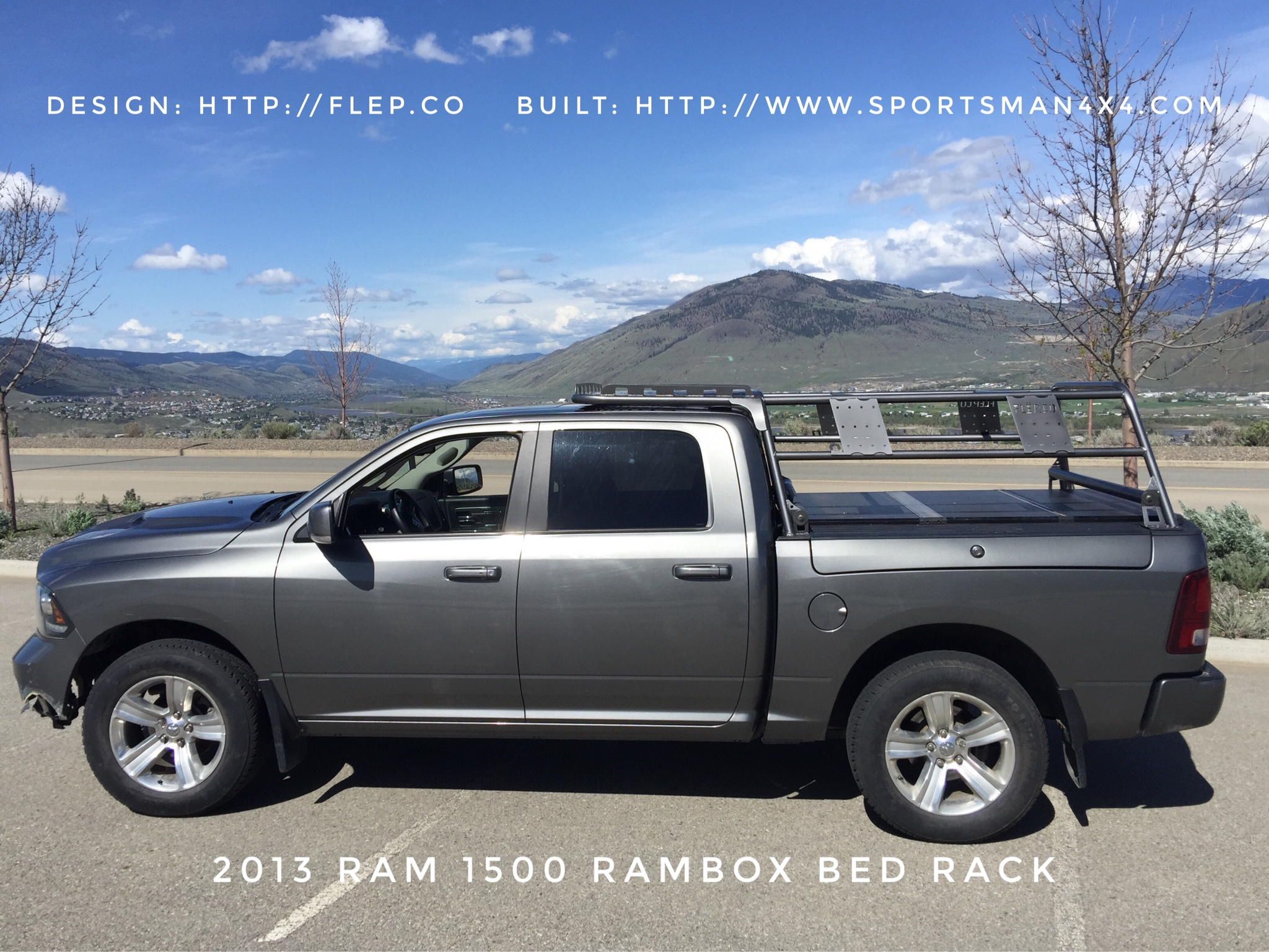 Bed Rack for Ram - American Expedition Vehicles - Product ...