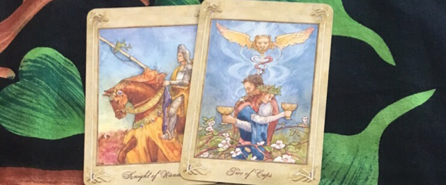 Knight of wands & Two of cups - Aeclectic Tarot Forum