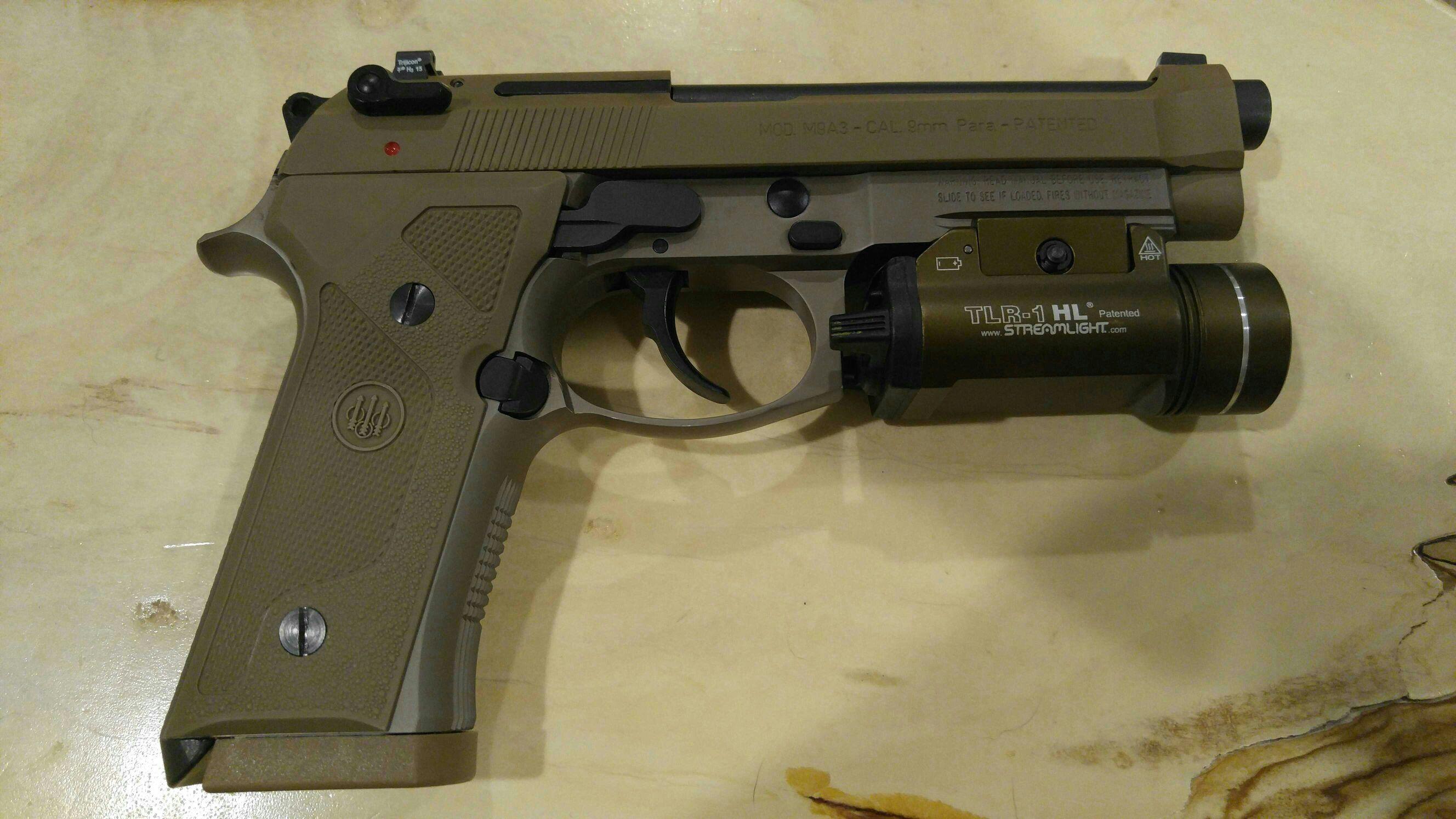 Beretta M9A3 G Model only - Calguns net