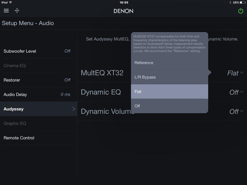 denon firmware boot up fail