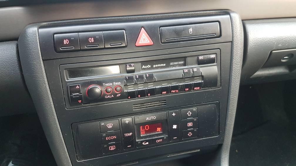 Modish Czy oryginalne radio z audi a4 b5 obsłuży skrzynię basowa ? - Audi DG37