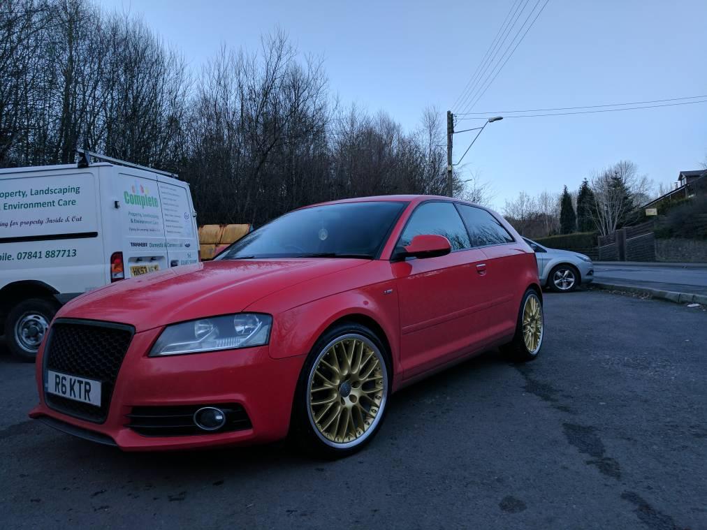 get your wheels out? please   Audi-Sport.net
