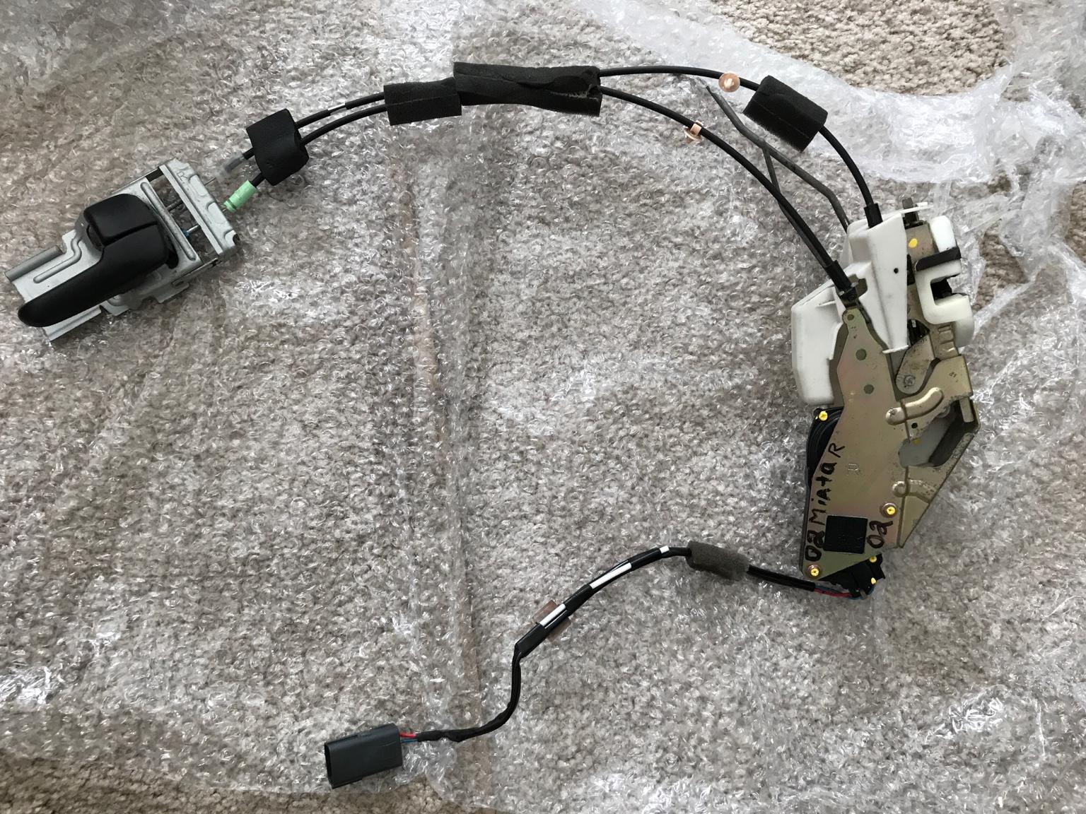 Help Replacing Door Lock Actuator Mx 5 Miata Forum