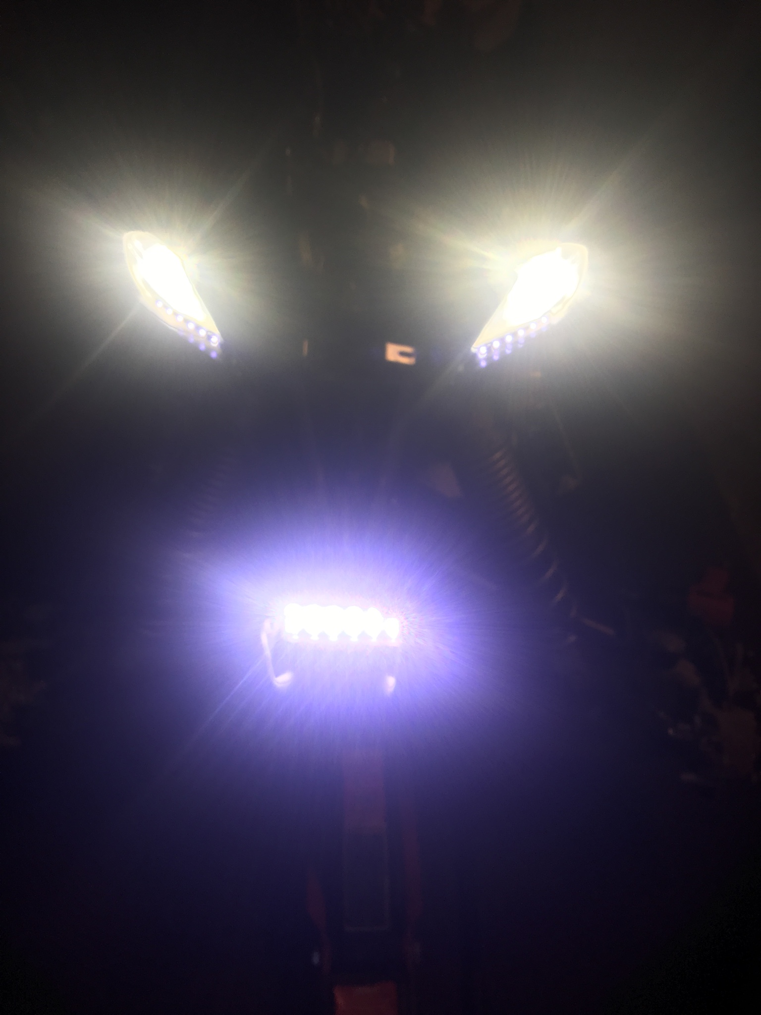 Itu0027s hard to believe I got by with stock lighting ...So far havenu0027t had problems yet... Iu0027m a little worried about my stator keeping up & Led lighting upgrade - Yamaha YFZ450 Forum : YFZ450 YFZ450R ...