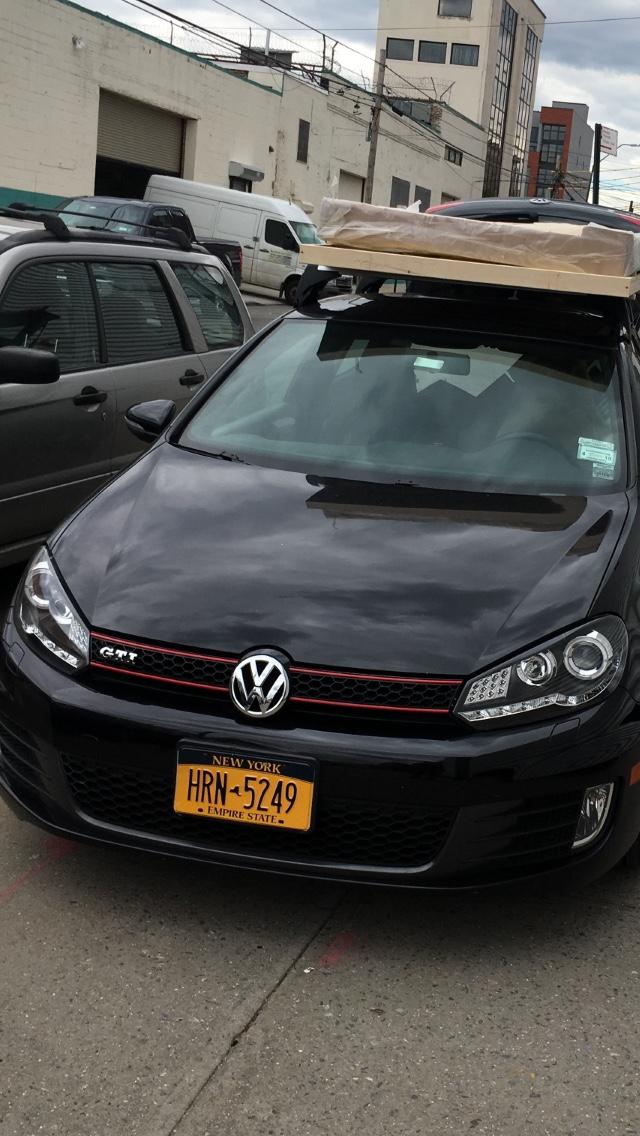 Aftermarket Junyan headlights DRL weirdness - VW GTI MKVI