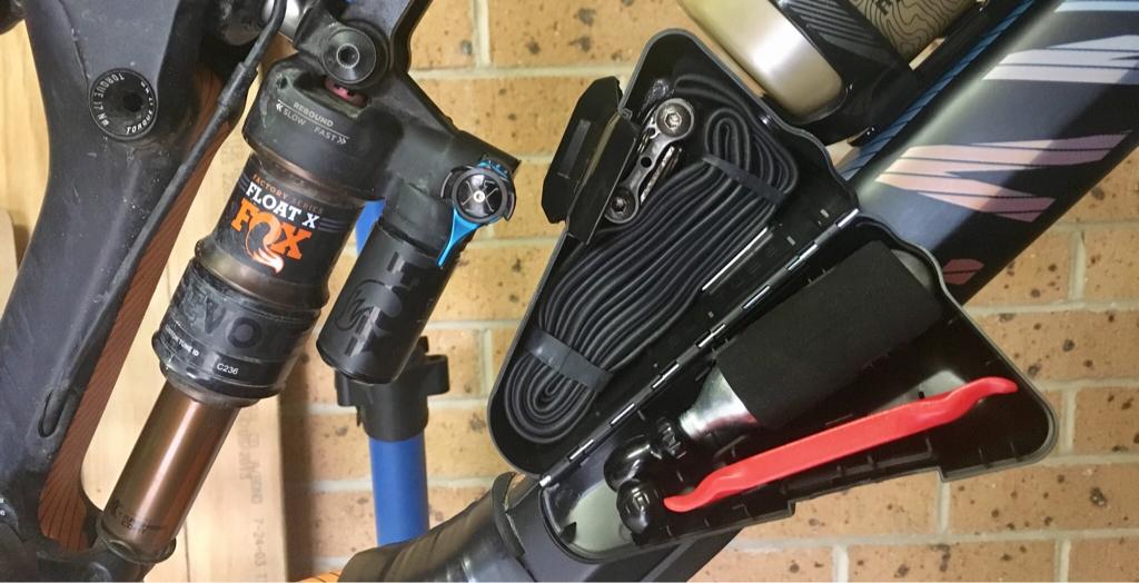Iphone Bike Mount >> SWAT xc Box on a Strive - pics- Mtbr.com