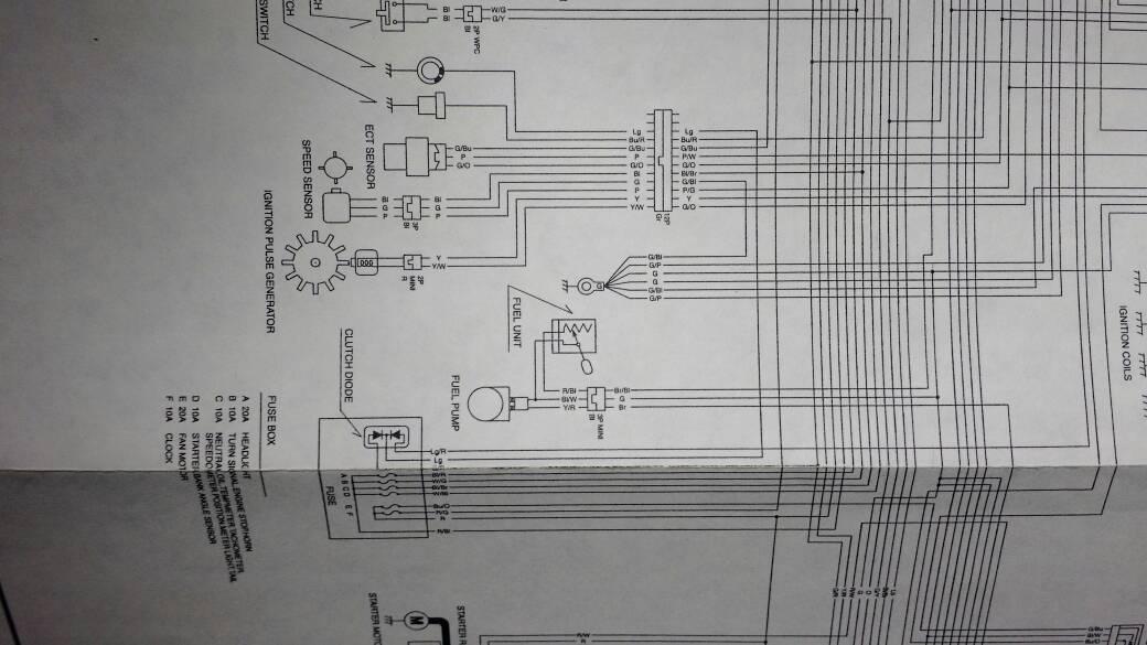 2005 Cbr600rr Australia No Fuel Pump Prime 600rr Net