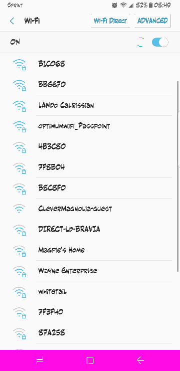 How do you disable the WiFi Networks Available notification